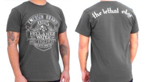 Hell or Highwater T Shirt in Grey
