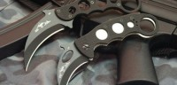 Fixed Blade Karambit Top