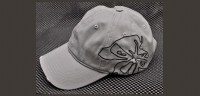 Gray outline hat