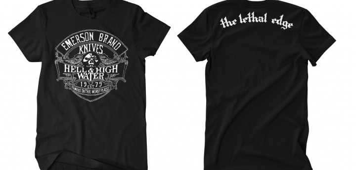 Hell and High Water BLK T