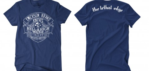 Hell and High Water BLUE T