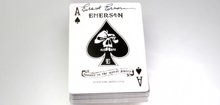 DECK OF CARDS SIGNED