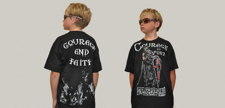 courage and faith kids t