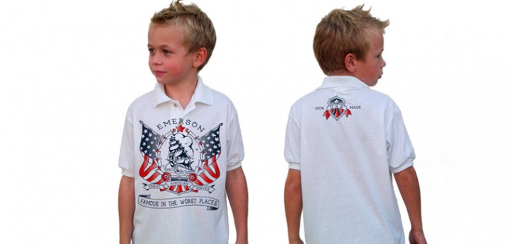 kids sail ship polo