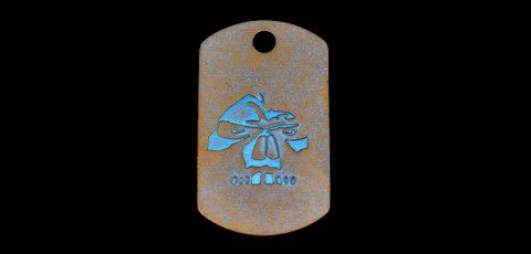 Ti Dog Tag 2