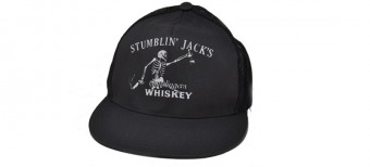 STUMBLIN JACK cHARCOAL MESH HAT